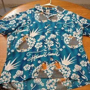 e2f2c3fc Kennington LTD Hawaiian Shirt button down XL
